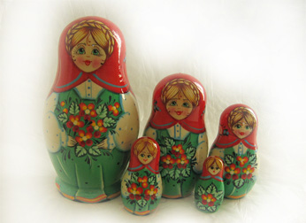 5-6 Piece Russian Doll Sets