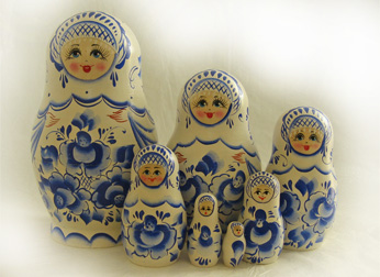 7 Piece Russian Doll Sets