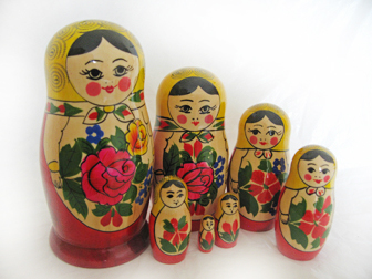 Traditional Russian Doll Sets