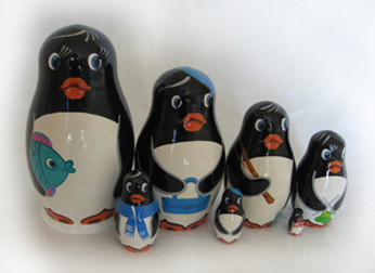 Animal Collection Sets of Russian Dolls